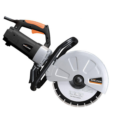 Concrete Saw Corded Portable Variable Blade Adjustable Cutter High Torque Motor