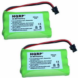 2x-HQRP-Batterie-Telephone-sans-Fil-Pour-Or-Peak-GP60AAAH3BMS-de-Rechange
