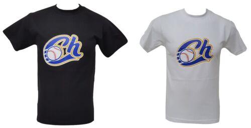 Charros De Jalisco Men/'s T-shirt Crew Neck 100/% Cotton Big Logo S-3XL Bk /& Wt