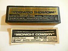 Midnight Cowboy 1969 Movie Wood Printing Press Block Dustin Hoffman Jon Voight