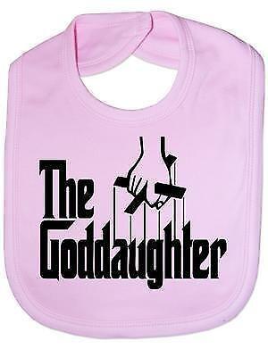 The Goddaughter Christening Baby Feeding Bib Gift
