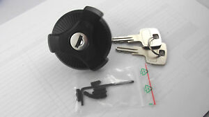 Fuel Tank Cap with Locks with 2 Keys Fits Piaggio Ciao Moped
