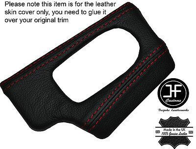 ROUGE PIQUER Dash Dashboard Phare Interrupteur Trim couverture de peau pour BMW Z4 E85 E86