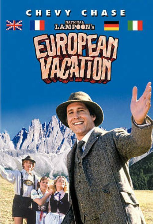 NATIONAL LAMPOONS EUROPEAN VACATION NEW DVD