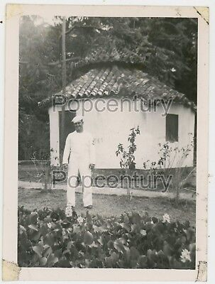 Ww2 Photograph 1946 Guam Agana Us Navy Army Catholic Church Garden Hagatna Photo Ebay