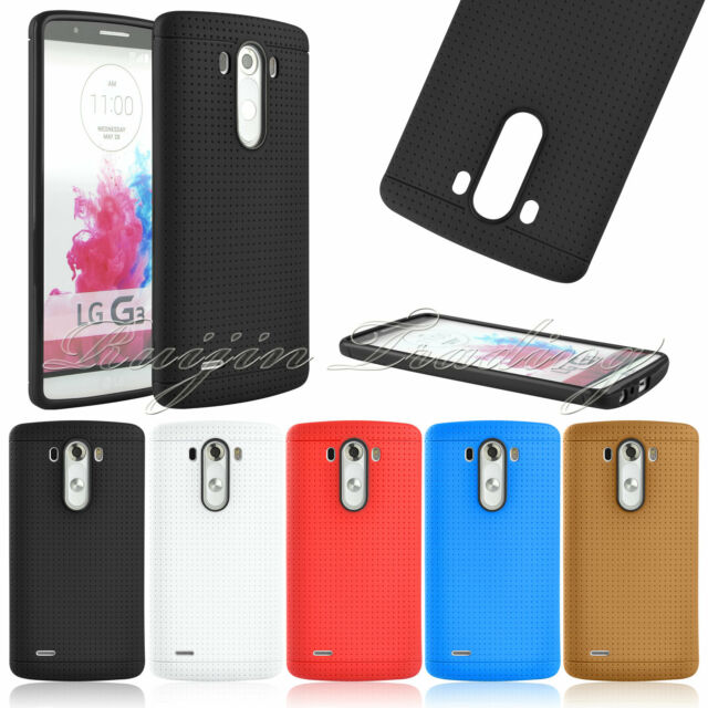 Slim Fit Soft Gel Silicone TPU Case Matte Skin Cover For LG G3