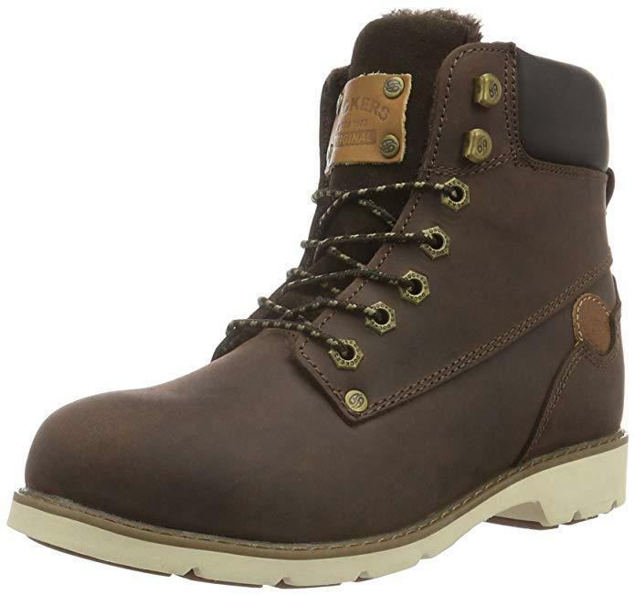 Dockers by Gerli 39si302 39si302 39si302 Ladies shoes Boots Brown Size 38 Uk5 New 4410ac
