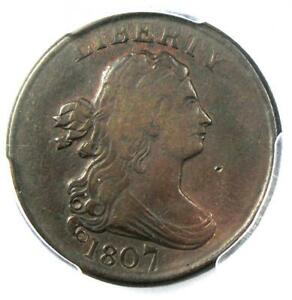 1807-Draped-Bust-Half-Cent-1-2C-Coin-Certified-PCGS-VF35-Rare-Date