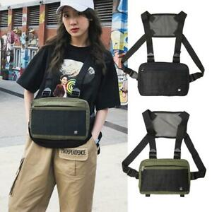 Hip-Hop-Cool-Nylon-Waist-Packs-Women-Men-Outdoor-Climbing-Harness-Chest-Rig-Bags