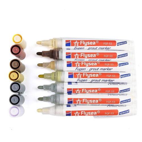 Tile Grout Pen Grout Restorer Marker Pens Grout Maker for Restore Renew Dingy jc