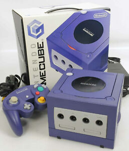 Game-Cube-Violet-Console-System-DOL-001-JP-For-Japan-Game-CD-FREE-SHIP-11531134