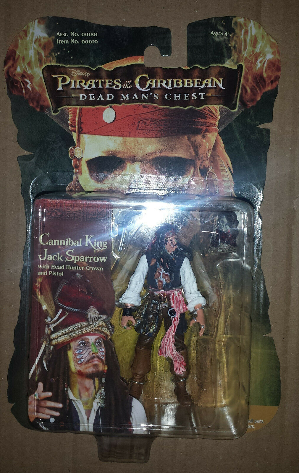 Sizzle Pirates of the bilibbean Figur Lot; Lot of 12 Annorful Figures, ny