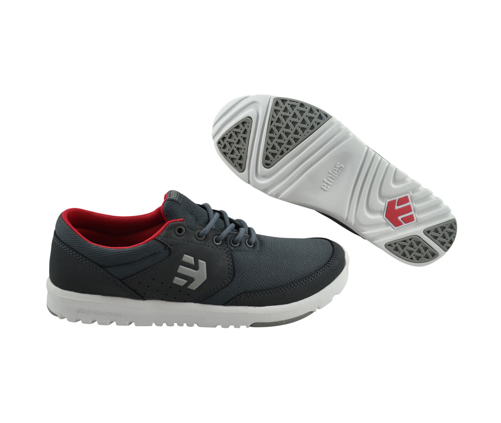 Los últimos zapatos de descuento para hombres y mujeres Etnies marana SC Grey/White/Gum skater Sneaker/zapatos gris