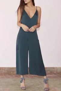 Filles Les Relaxed Lace Pocket Back Jumpsuit Size Small Nwt Avec 118 5p1FPnq5T