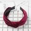 Women-Velvet-Cute-Headband-Alice-Band-Top-Cross-Knot-Headband-Twisted-Hairband thumbnail 13