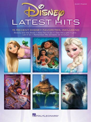 Disney Latest Hits TV Film Show BEGINNER EASY Learn Play FROZEN Piano MUSIC BOOK