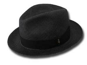 Cappello-Borsalino-141087-fedora-Panama-5-cm-nero