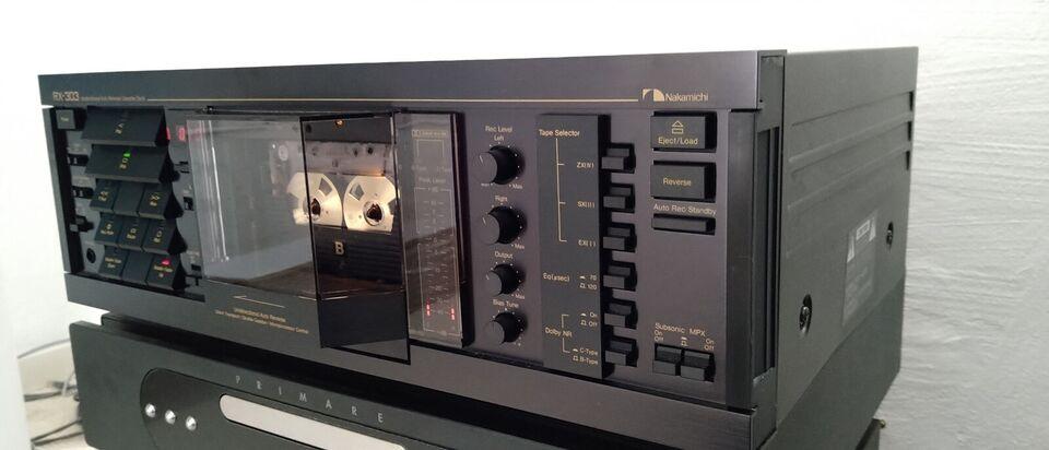 Båndoptager, Nakamichi, RX 303