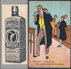 Lawyer-Bar-Ponds-Bitters-Ginger-Brandy-Headache-Saloon-Cure-Telephone-Trade-Card