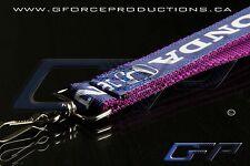 PURPLE Premium Honda Wrist/Palm Lanyard JDM Civic S2000 Prelude Integra RSX