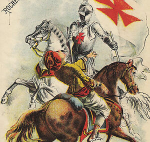 Crusades Zouave Janesville WI Red Cross Stove Range Rochester Folder Trade Card