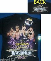 Wwe Wrestlemania 30 T-shirt Child 6 7 8 10 12 14 16 18 Cena Daniel Bryan