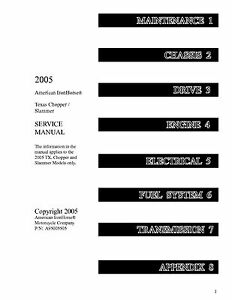 2005 AMERICAN IRONHORSE MOTORCYLE TEXAS CHOPPER / SLAMMER SERVICE MANUAL ON  CD | eBayeBay