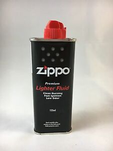 Bulk 3 x Zippo Cigarette Genuine Lighter Premium FLUID Fuel Petrol Refill 125ml