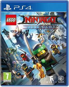 LEGO-Ninjago-movie-videogame-Sony-PS4-Playstation-4-amp-Nuovo-Di-Zecca-Sigillato