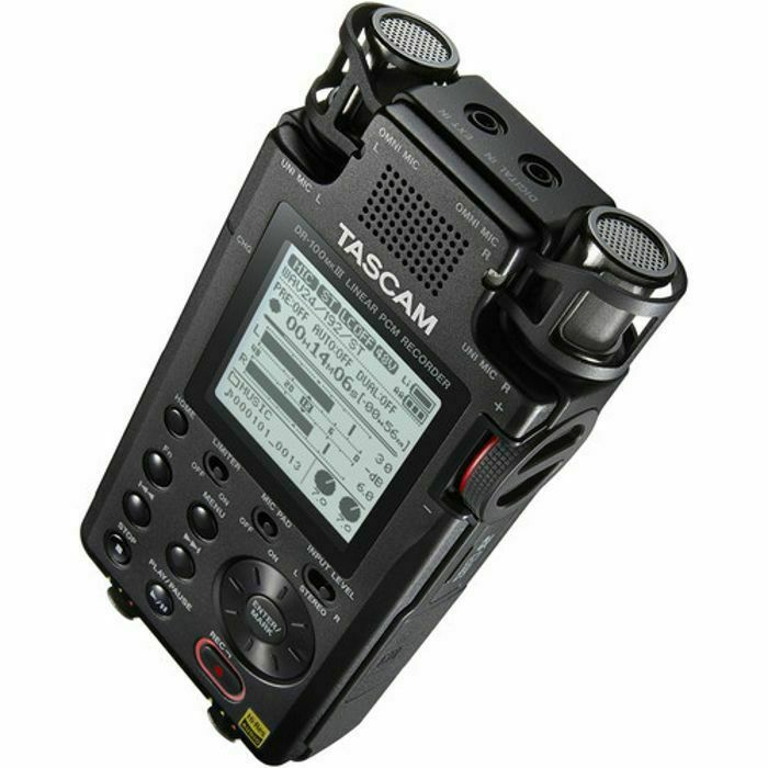 Tascam DR 100MkIII Portable Digital Audio Recorder