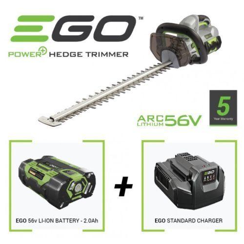 EGO 61cm battery power hedge trimmer kit 2Ah 56V lithium Ion *EGHT2401EKIT*