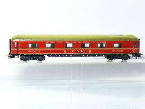 Marklin-4064-h0-4-Achsiger-D-TRAIN-Sommeil-voiture-WLABum-33-de-la-DSG-neuf-dans-sa-boite-avec