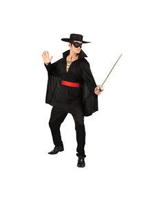 meilleure sélection de styles de mode styles frais Détails sur Mousquetaires BANDIT & Chapeau adulte robe fantaisie Légende de  Zorro Mexicain Costume Outfit- afficher le titre d'origine