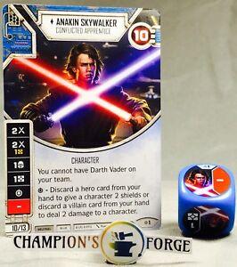 Star Wars Destiny Rivals Anakin Skywalker #1 w/ Premium Die