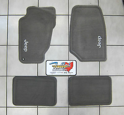 1999 - 2004 Jeep Grand Cherokee Taupe Carpet Floor Mats ...