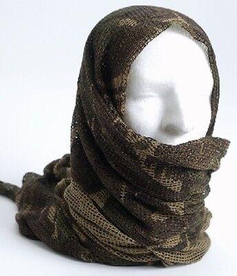 Fedele British Dpm Testa-foulard Tarnschal Rete Sciarpa Scialle Royal Army Military Scarf-mostra Il Titolo Originale