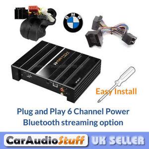match bmw plug play 6 channel car speaker amplifier. Black Bedroom Furniture Sets. Home Design Ideas