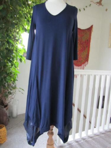 Clothes Dress Dip amp; Detail Scoop Back Navy Jersey Join Neck Size Hem S qwOSSdC