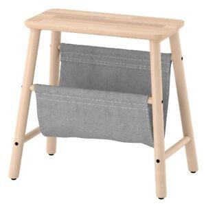 Ikea Vilto Hocker Birke Badezimmerhocker Aufbewahrung Tritthocker