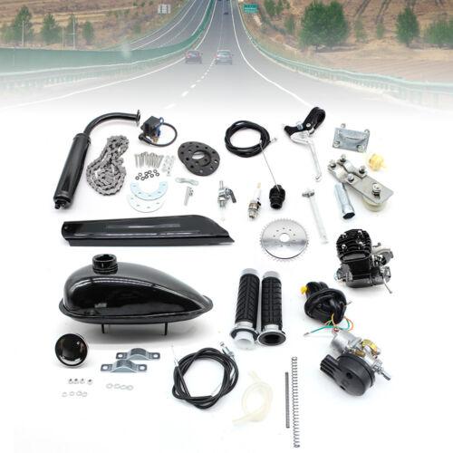 80CC 2-Takt Motor Motor Kit Motorisierte Fahrrad Push Bike Benzin Kraftstoff DIY