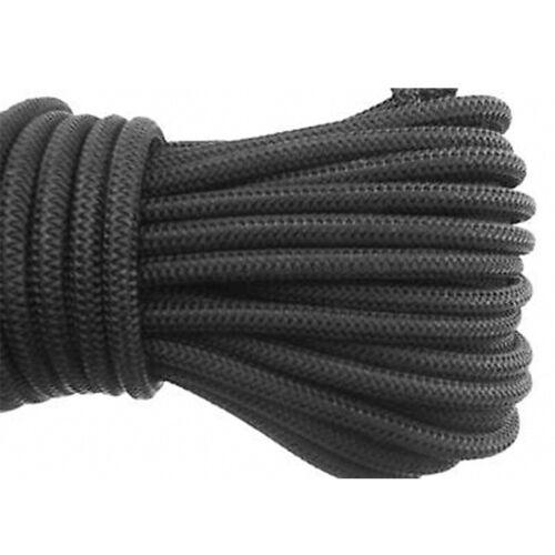 8mm Elastischer Gummizug Extra Stark Seil Beste Gummiseil Fessel Schwarz