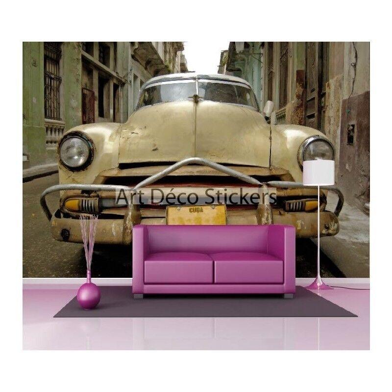 Stickers muraux géant déco : Voiture-Buick Voiture-Buick Voiture-Buick à cuba 1559 | Bonne Conception Qualité  | Pas Cher  | Shop  5cf4ce