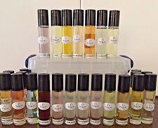 Lot of 100 Designer Type Perfume Body Oil Roll-on's for Women