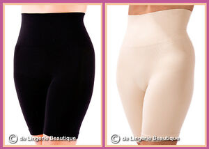 Seamless Bums Tums Hips and Thighs Slimming Pants Black Skin S XL Size 8-20