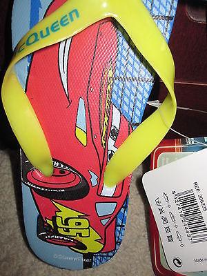 BNWT - Disney Pixar Cars Flip Flop en Rojo o Azul-Tamaños: 7, 10 y 11.5