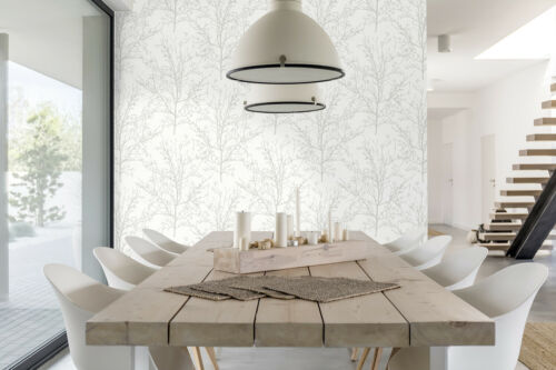 """20.5/"""" W x 18/' L Roll Peel and Stick Branches Self Adhesive Removable Wallpaper"""