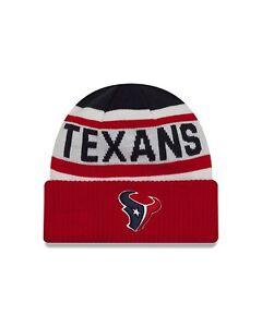 NWT NEW ERA HOUSTON TEXANS NFL CUFF KNIT BEANIE HAT CAP OSFA  3bb680044