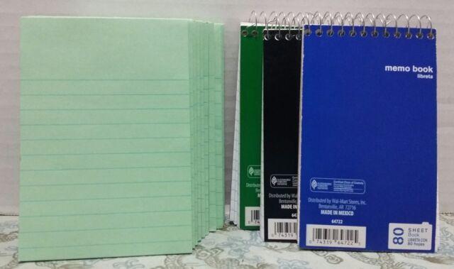 Misprint Mini Spiral Notebooks Lot of 1,000 Pieces