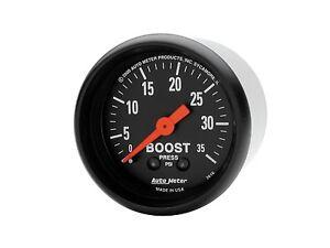 "Auto Meter 7104 2-1//16/"" C2 Mechanical Boost Gauge 0-35 PSI"