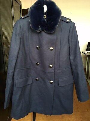 Manteaux Cerruti 1881 Manteaux Laine,Mohair Bleu Marine ref
